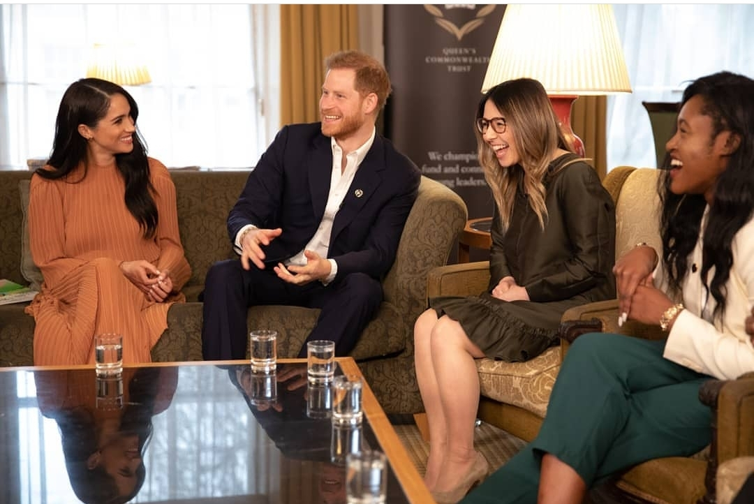 prince harry is back to his cheeky old self his recent picture with meghan markle says it all masala com prince harry is back to his cheeky old