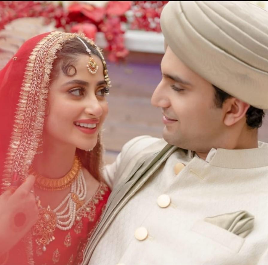 Ahad Raza Mir and Sajal Ali Wedding