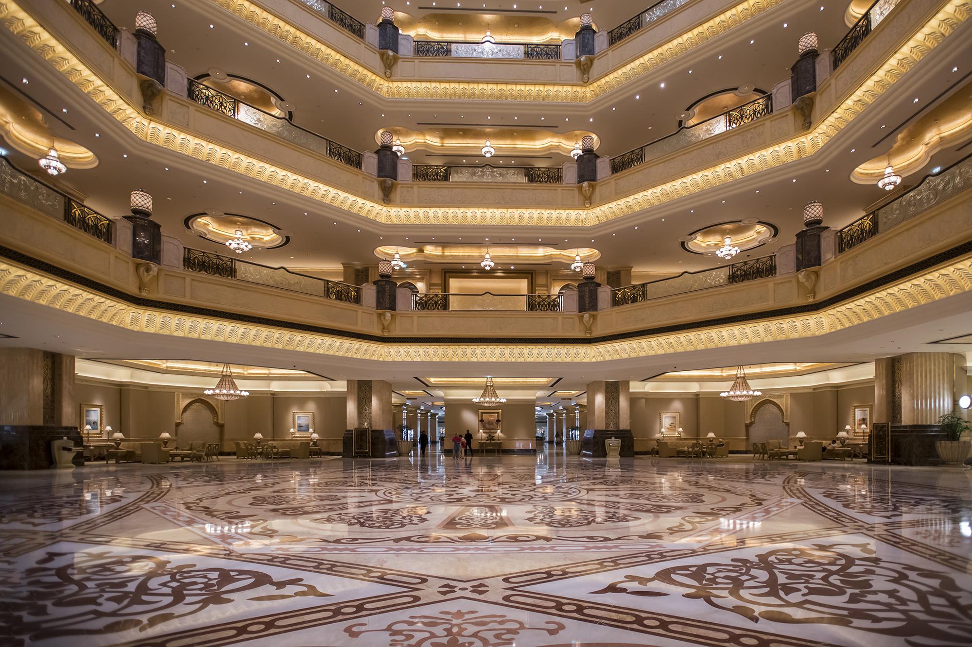 The Emirates Palace Hotel, Abu Dhabi
