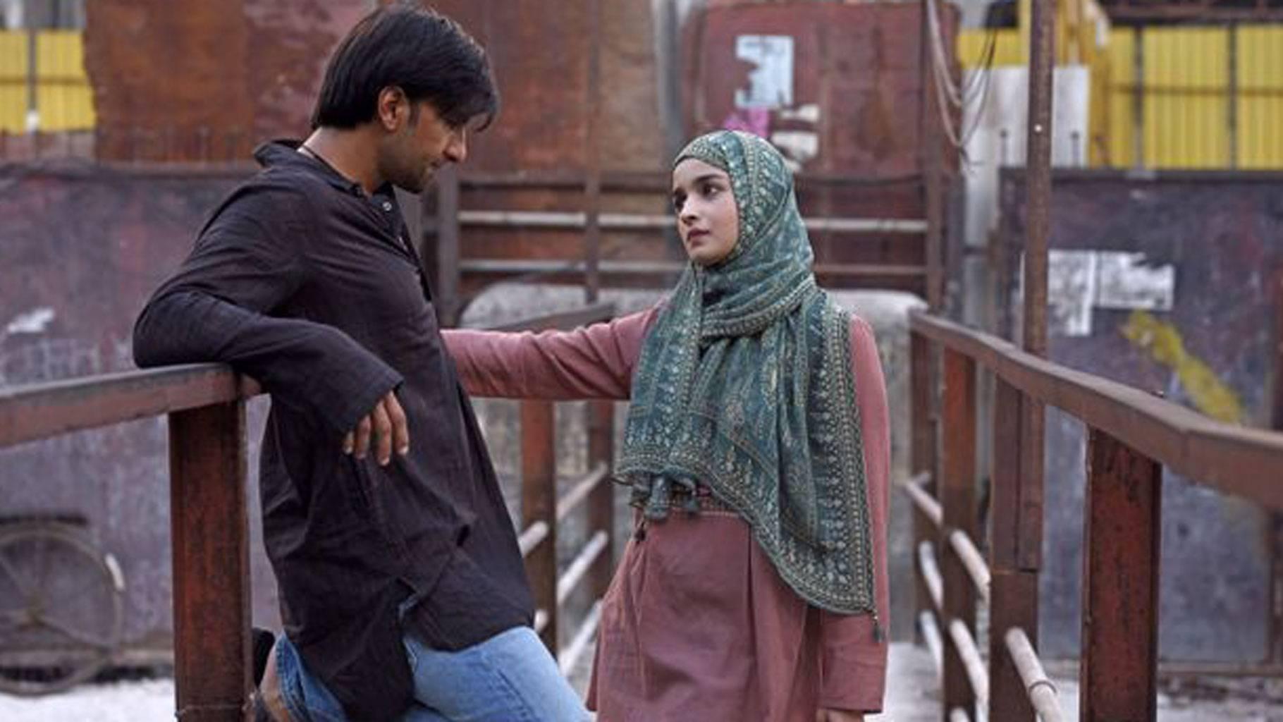 Alia Bhatt and Ranveer Singh in Gully Boy