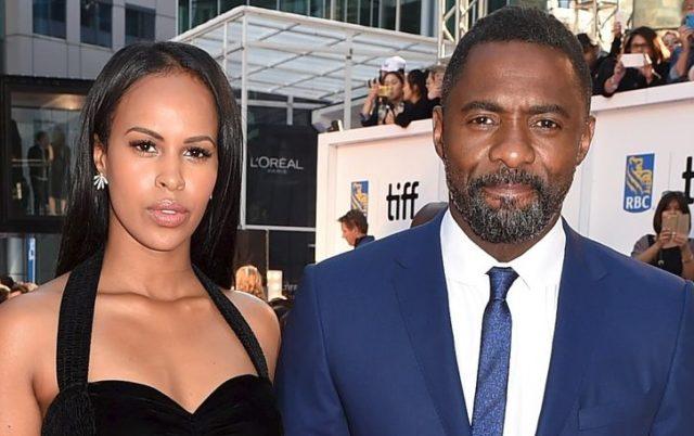 Idris Elba and his wife Sabrina Dhowre