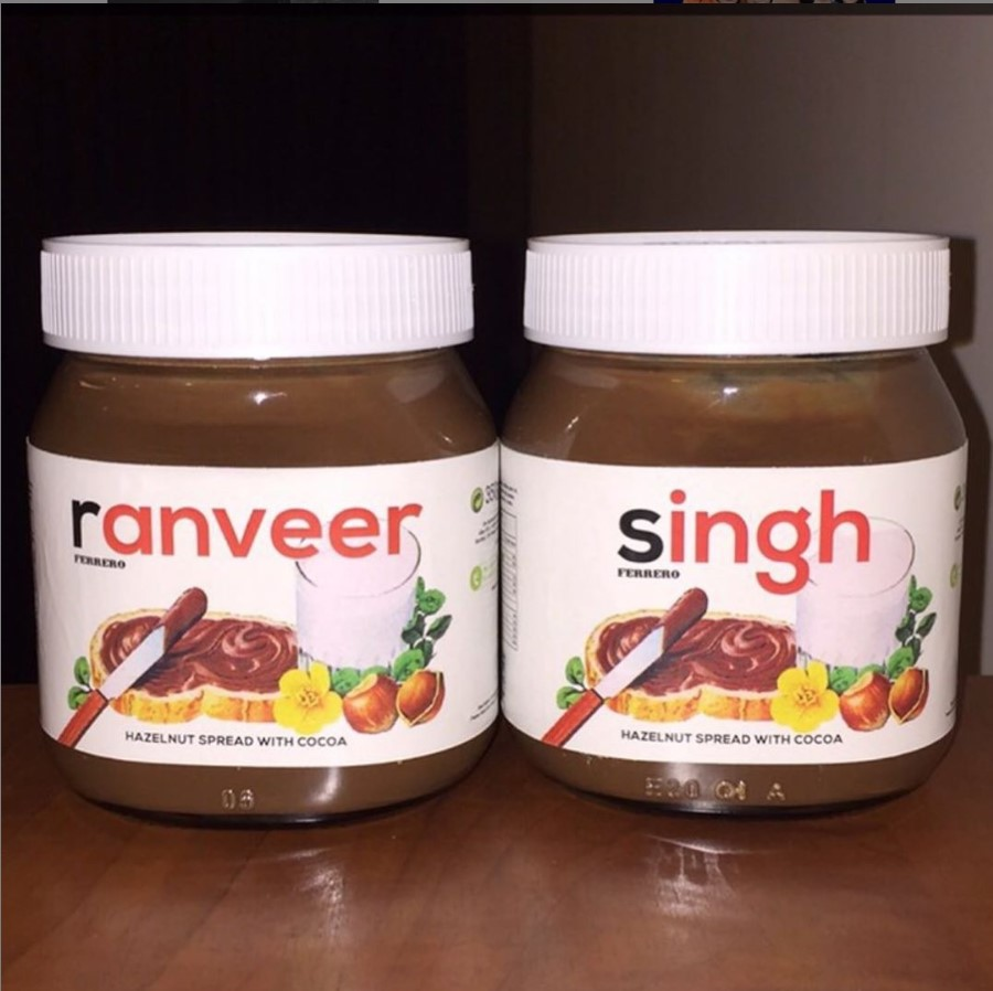 Ranveer Singh's favourite cheat food is Nutella