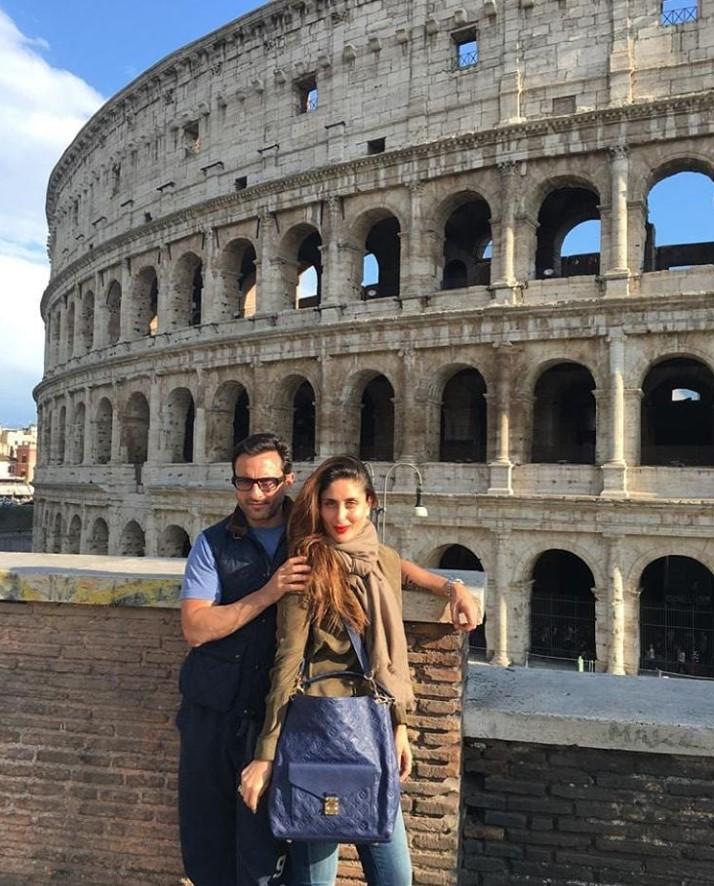 Europe has always been a favourite holiday destination for Kareena Kapoor Khan and Saif Ali Khan