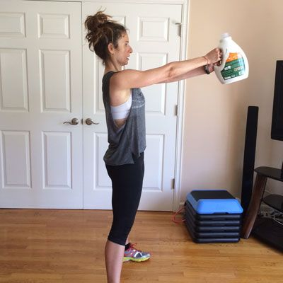 Coronavirus: DIY Substitutes For Gym Equipment If You Are Working Out At Home