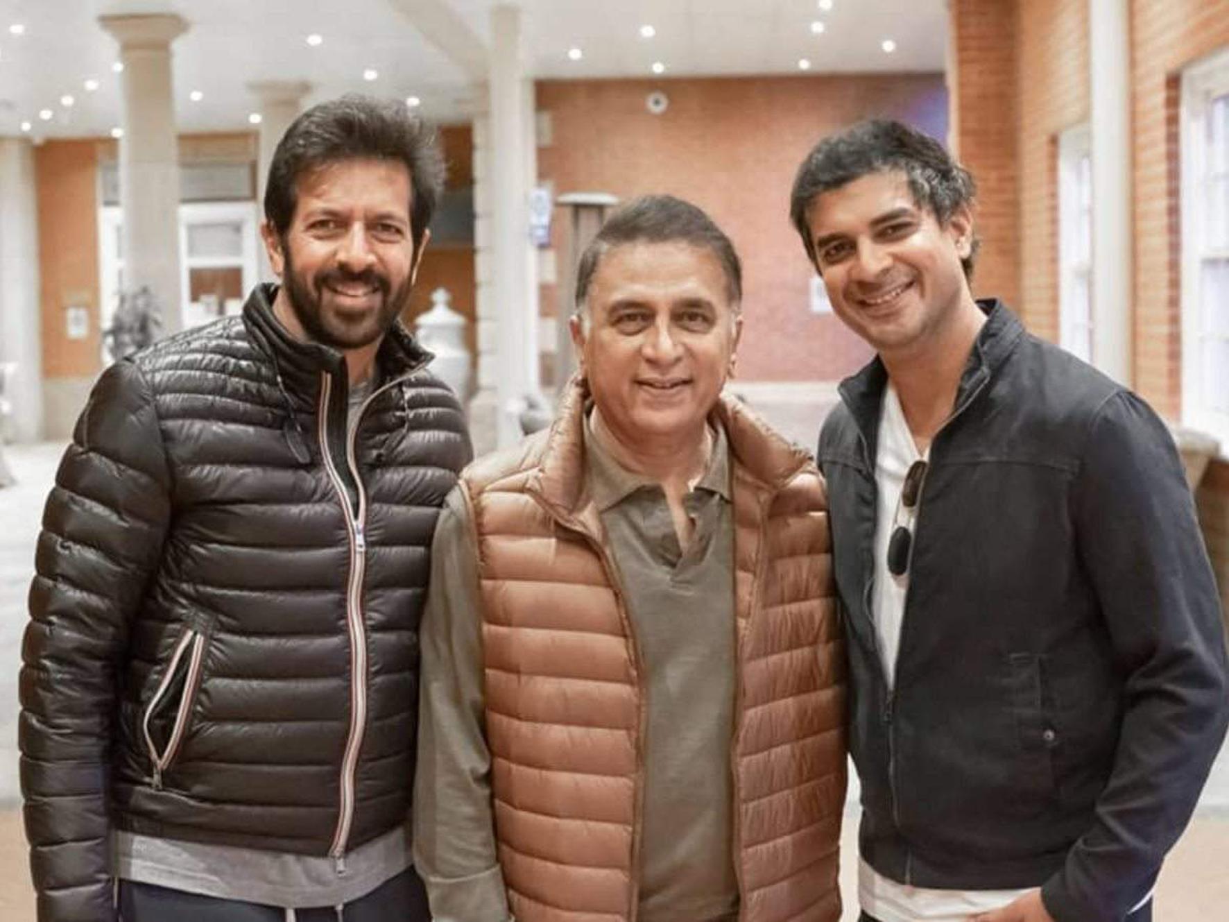 Kabir Khan, Sunil Gavaskar and Tahir Raj Bhasin