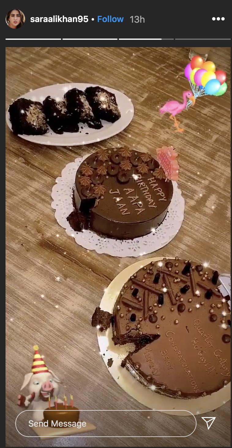 Sara Ali Khan celebrates her 25th birthday in style
