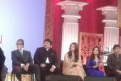 Aishwarya Rai Bachchan and Amitabh Bachchan in Dubai for Kalyan Jewellers' Launch