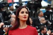 #BollywoodAtCannes: Katrina Kaif Dazzles in a Red Elie Saab Gown