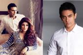 Aamir Khan the Friendly Videographer at Akshay Kumar-Twinkle Khanna Wedding?