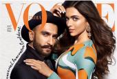 Deepika Padukone and Ranveer Singh Sizzle on the Cover Of Vogue!