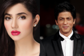 OMG! Did SRK's Romantic Act Frighten Mahira Khan?