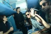 Ranbir Kapoor and Deepika Padukone's Train Tamasha