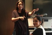 Parineeti Chopra Gives Her Blessings to Sania Mirza With a Racquet!