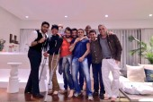 Injured Hrithik Roshan Spotted Partying Hard With Good Friends Abhishek Bahchan and Goldie Behl