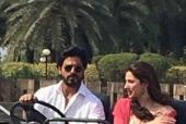 Shah Rukh Khan and Mahira Khan Shoot For Raees in Mumbai