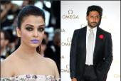 Abhishek Bachchan Says Aishwarya Rai Bachchan Looked FANTASTIC with Purple Lips