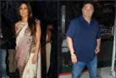 Kareena Kapoor Khan Reacts to Uncle Rishi Kapoor's Media Brawl