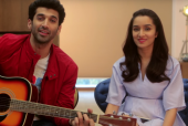 Shraddha Kapoor and Aditya Roy Kapur Join In The Festive Spirit for 'OK Jaanu'