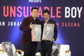 Shah Rukh Khan Launches Karan Johar's Book 'An Unsuitable Boy'