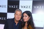 Katrina Kaif and Manish Malhotra at Vogue India's Party to Honour Photographer Mario Testino