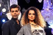 'I'm done with Kangana Ranaut playing the woman and victim card': Karan Johar