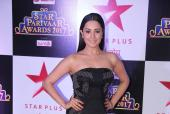 Anita Hassanandani, Jeetendra and Ekta Kapoor at the Star Parivaar Awards