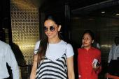 Star Spotting: Deepika Padukone and Cute Couple Shahid Kapoor and Mira Rajput At the Airport