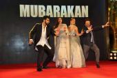 Anil Kapoor, Arjun Kapoor and Athiya Shetty Sizzle at the 'Mubarakan' Sangeet Ceremony