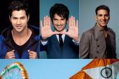 WATCH: Varun Dhawan, Akshay Kumar and Sushant Singh Rajput Celebrate India's Independence Day
