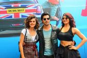 Varun Dhawan, Jacqueline Fernandez And Taapsee Pannu At The Trailer Launch of Judwaa 2!