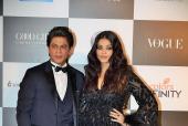 Aishwarya Rai Bachchan, Shah Rukh Khan, Anushka Sharma Make A Splash At Vogue Awards