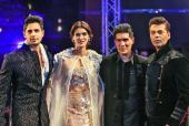 Karan Johar, Kriti Sanon and Sidharth Malhotra Walk The Ramp at Manish Malhotra Show In Dubai