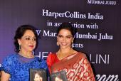Deepika Padukone Launches Hema Malini's Biography, 'Beyond The Dream Girl'