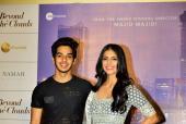 Ishaan Khattar and Malavika Mohanan At 'Beyond the Clouds' Press Meet