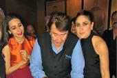 Kareena And Karisma Celebrate Dad Randhir Kapoor's 71st Birthday With the Kapoor Clan
