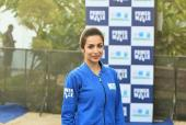 Malaika Arora, Ayushmann Khuranna and Sanya Malhotra At the Max Bupa Walk For Health Event