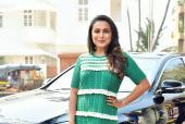 Star Spotting: Rani Mukerji launches 'Oye Hichki' Song, Stylish Malaika-Amrita Dine Together and More!