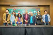 Ali Zafar, Shehzad Roy and Abida Parveen Speak to the Media at the PSL Press Conference