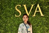 Mira Rajput in SVA Couture at the Store Launch