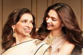 In Pics: Deepika Padukone Looks Shy and Pretty in Pink as She Steps out For Dinner with Mum