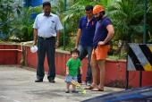 In Pic: Saif Ali Khan Teaching Taimur Badminton is TOO Cute To Miss