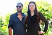 Tabu  Reunites With Old Friend Ajay Devgn