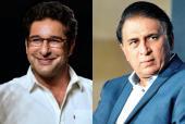 Meet Sunil Gavaskar and Wasim Akram in Dubai Together!