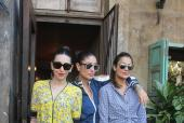 Star Spotting: The Kapoor Sisters and Amrita Arora Hang Out, Kajol And Neha Dhupia Snapped and 'Loveratri' Promotions in Full Swing