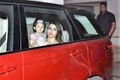 Star Spotting: Baby Inaaya-Soha Ali Khan Go On A Drive, Kriti Sanon Keeps It Casual and Varun Dhawan Clicked