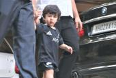 Star Spotting: Baby Tim Plays Football, Vicky Kaushal Strikes A Pose For The Paps, Ishaan Khatter Clicked