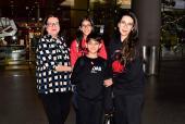 Airport Diaries: Karisma Kapoor Returns From Dubai, Varun Dhawan With Girlfriend, Natasha Dalal and Aparshakti Khurrana Keeping It Stylish