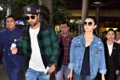 Airport Diaries: Ranbir Kapoor-Alia Bhatt Return From New York, Ayushmann Khurrana Keeps It Stylish and Raveena Tandon Snapped!