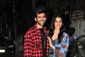Star Spotting: Kartik Aaryan-Kriti Sanon Promote 'Luka Chuppi', Ishaan Khatter Goes On A Bike Ride and Sara Ali Khan Papped!