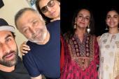 Alia Bhatt and Ranbir Kapoor Enjoy Family Time